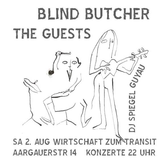 FLYER BLIND BUTCHER X